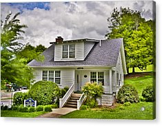 Carter Humphrey Guest House Mars Hill College Acrylic Print by Ryan Phillips