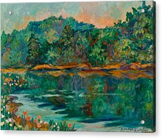 Carvins Cove Acrylic Print by Kendall Kessler