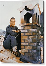 Cary Grant In To Catch A Thief  Acrylic Print by Silver Screen