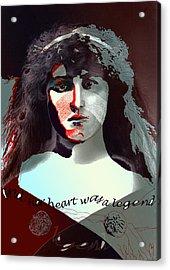 Cassandra Acrylic Print by Maria Jesus Hernandez