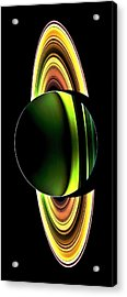 Cassini's Phone Acrylic Print by Benjamin Yeager