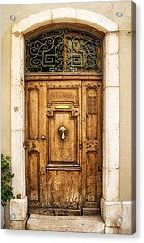 Cassis French Door Acrylic Print by Georgia Fowler