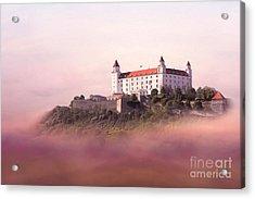 Castle In The Air II. - Bratislava Castle Acrylic Print by Martin Dzurjanik
