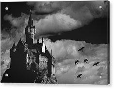 Castle In The Sky Acrylic Print by Bob Orsillo