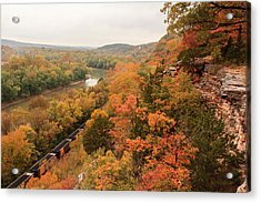 Castlewood State Park Acrylic Print by Scott Rackers