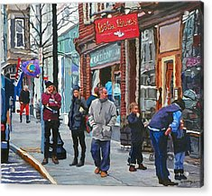 Casual Observer Acrylic Print by Kenneth Young