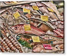 Catch Of The Day Acrylic Print by Karen Walzer