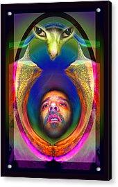 Cateyes Acrylic Print by Otto Rapp