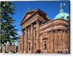 Cathedral Basilica Of Saints Peter And Paul Acrylic Print by Olivier Le Queinec
