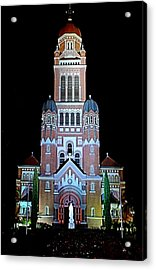 Cathedral Acrylic Print by Cecil Fuselier