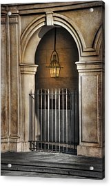 Cathedral Gate Acrylic Print by Brenda Bryant