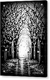 Cathedral Park Acrylic Print by Janine Riley