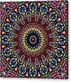 Catherine's Window Acrylic Print by Wendy J St Christopher