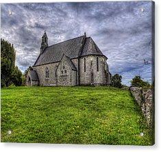 Cefn Meiriadog Parish Church Acrylic Print by Ian Mitchell