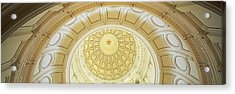 Ceiling Of The Dome Of The Texas State Acrylic Print by Panoramic Images