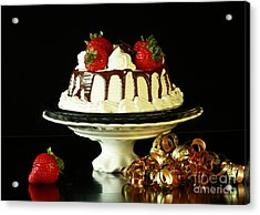 Celebrate With Cake Acrylic Print by Inspired Nature Photography Fine Art Photography