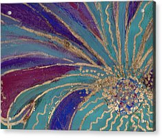 Celebration IIi Acrylic Print by Anne-Elizabeth Whiteway