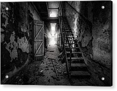 Cell Block - Historic Ruins - Penitentiary - Gary Heller Acrylic Print by Gary Heller