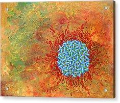Cell No.1 Acrylic Print by Angela Canada-Hopkins