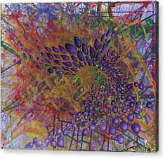 Cell No.8 Acrylic Print by Angela Canada-Hopkins