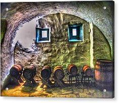 Cellar Silence Acrylic Print by Frank SantAgata