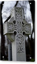 Celtic Cross 10194 Acrylic Print by Guy Whiteley