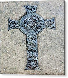 Celtic Cross IIi Acrylic Print by Suzanne Gaff