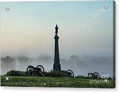 Cemetery Hill Gettysburg  Acrylic Print by John Greim