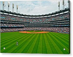 Center Field Acrylic Print by Frozen in Time Fine Art Photography