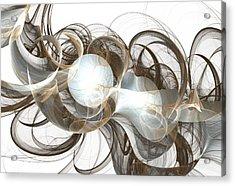 Central Core Acrylic Print by Anastasiya Malakhova