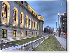 Central Library St. Louis Acrylic Print by Jane Linders