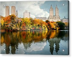 Central Park #1 Acrylic Print by Diana Angstadt