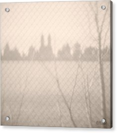 Central Park Reservoir Acrylic Print by Beverly Brown