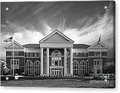 Centre College - Crounse Hall Acrylic Print by University Icons