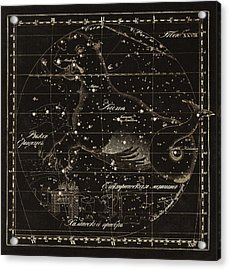 Cetus Constellations, 1829 Acrylic Print by Science Photo Library