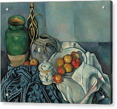 Cezanne Sill Life, C1893 Acrylic Print by Granger