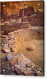 Chaco Ruins #1 Acrylic Print by Inge Johnsson