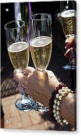 Champagne Celebration Acrylic Print by Jim West