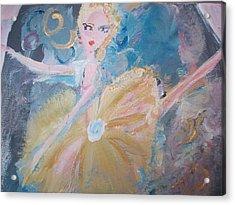 Changement Ballet Acrylic Print by Judith Desrosiers