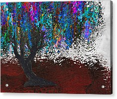 Changing Tree Acrylic Print by Jack Zulli