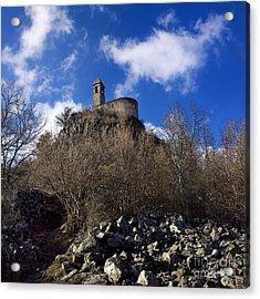 Chapel. Auvergne. France Acrylic Print by Bernard Jaubert
