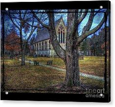 Chapel Acrylic Print by Jim Wright