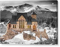 Chapel On The Rock Bwsc Acrylic Print by James BO  Insogna