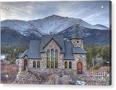 Chapel On The Rock Acrylic Print by Juli Scalzi