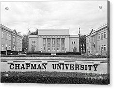 Chapman University Memorial Hall Acrylic Print by University Icons