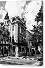 Charleston Corner Charleston Sc Acrylic Print by William Dey