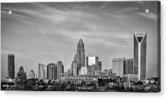 Charlotte Chrome Acrylic Print by Brian Young