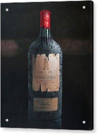 Chateau Latour Acrylic Print by Lincoln Seligman