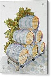 Chateau Montelena Acrylic Print by Lou Ann Overman