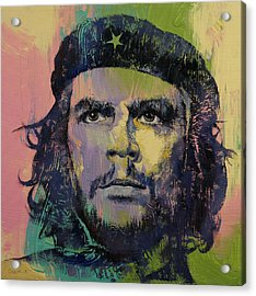 Che Guevara Acrylic Print by Michael Creese